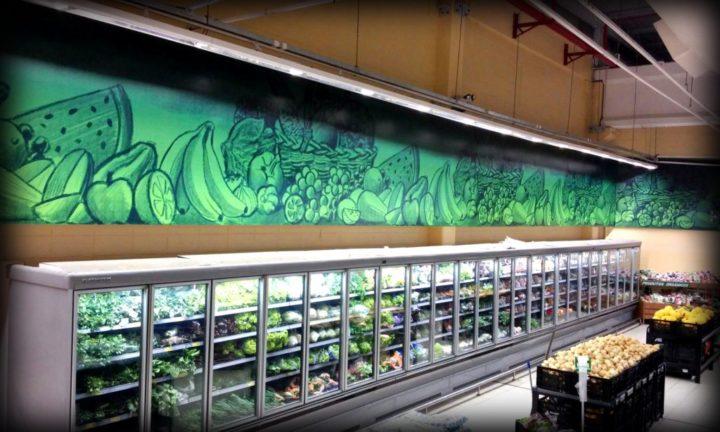 Sinalização Supermercado Walmart